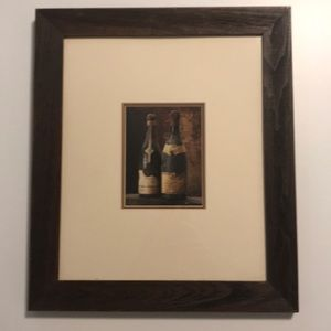 Framed Wine Print, Wall Art